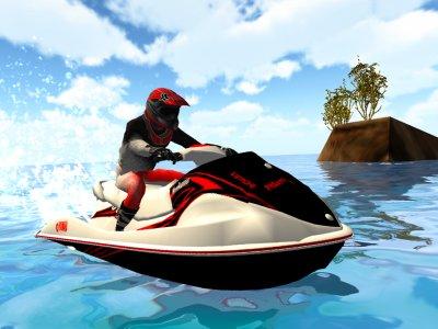 Action Jet Ski Jump Rider 3D