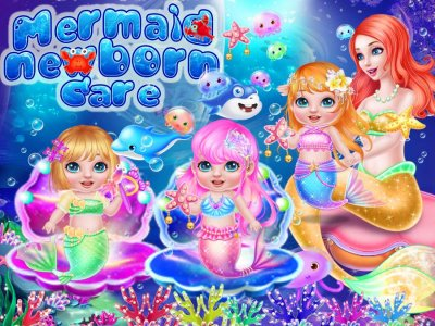 Mermaid Newborn Care