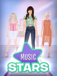 Stardoll Dress Up Music Stars