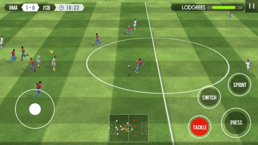Real Football Android Game APK (com gameloft android ANMP GloftR7HM