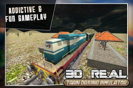 Real Train Drive Simulator 3D