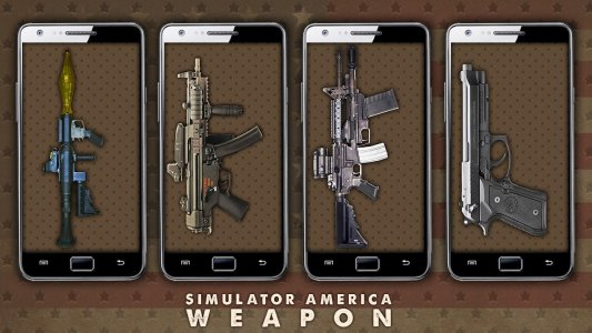Simulator America Weapon