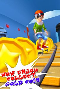 3D Subway Boy Run Rail Dash
