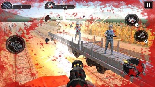 Train Gunner Attack