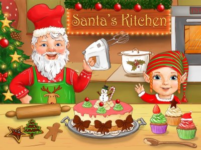 Santa's Christmas Kitchen