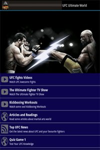 UFC MMA Champions League TV