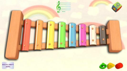 Ксілофон для навчання музики