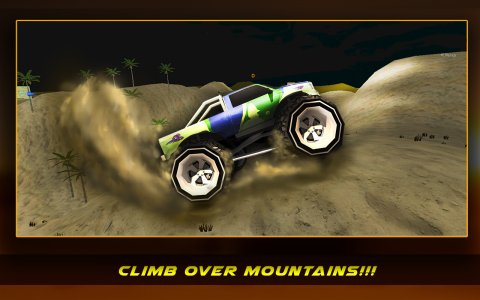 4x4 Desert Offroad Stunt Truck
