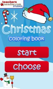 Christmas Coloring Book Games