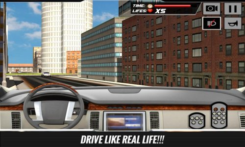Conductor City Limo Car Sim 3D