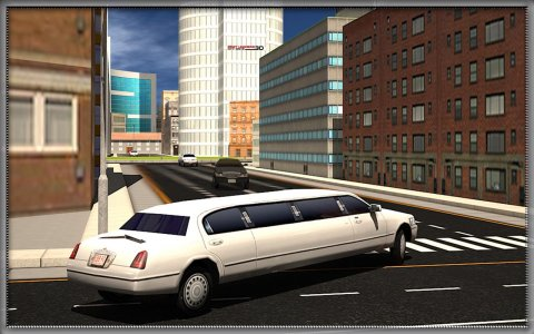 City Limo Car Driver Sim 3D