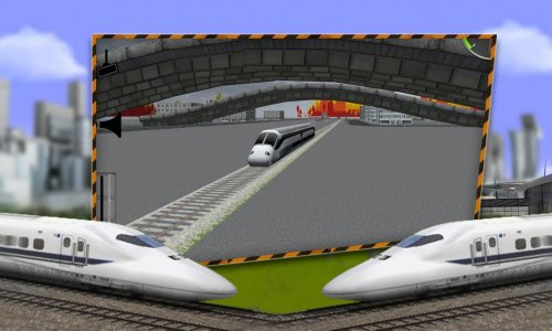 City Fast Bullet Train Driving Simulator 2018