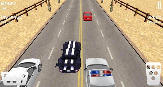 Desert Traffic Race
