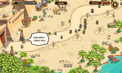Empires of Sand - Online PvP Tower Defense Games