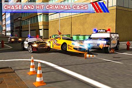 Criminal Police Car Chase 3D?