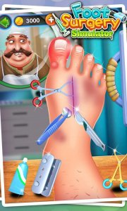 Foot Surgery Simulator