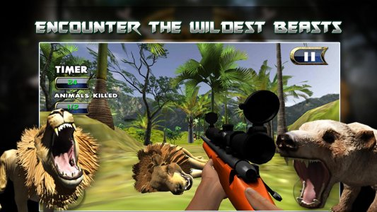 Wildlife Sniper Deer hunting - Survival FPS game