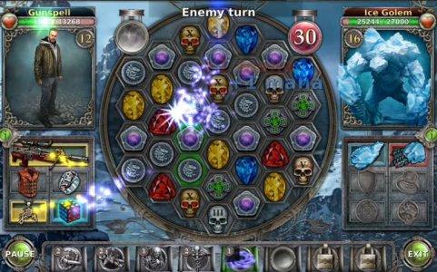 Gunspell - Match 3 Battles