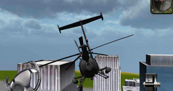 เฮลิคอปเตอร์จำลอง 3D เที่ยวบิน