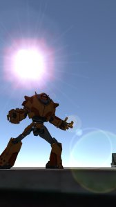 Iron Robot Rush Transformers