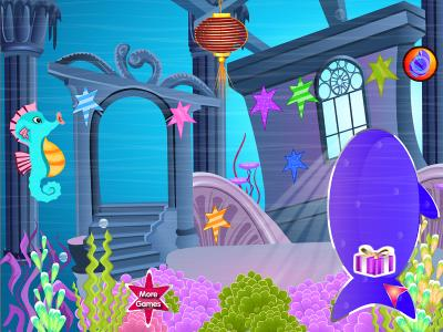 Mermaid party games for girls