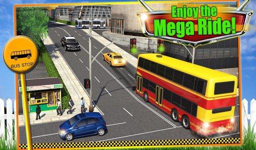 Modern Bus Driver 3D Sim