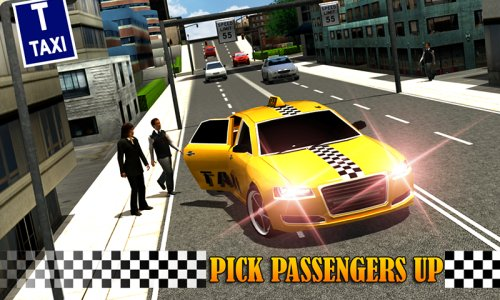 Modern Taxi Driving 3D