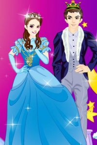 Prince And Princess In The Fairy Tales