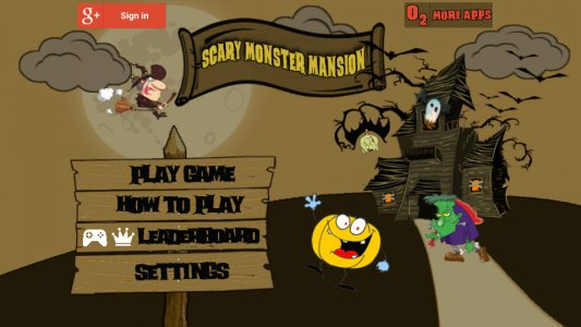 Scary Monster Mansion