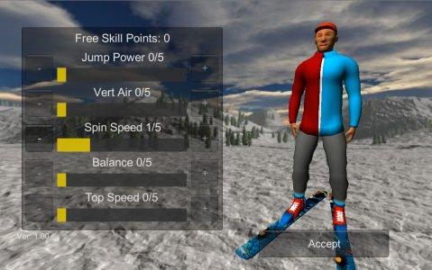 Ski Freestyle Mountain