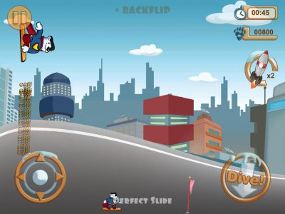 Snowboard Racing Free Fun Game