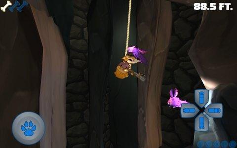Sparkle Corgi Goes Cave Diving