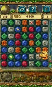 Treasures of Montezuma 3 Free. True Match-3 Game.