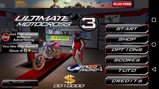 Ultimate MotoCross 3 Free