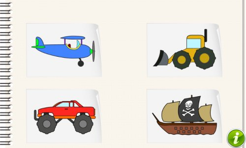 Vehicles and Cars Coloring Kid