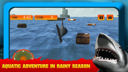 Wild Shark Attack Simulator 3D