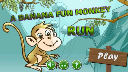 A Banana Fun Monkey Run