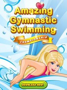 Amazing Princess Swimming