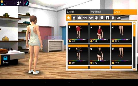 Avakin 3d Avatar Creator Android Game Apk Com