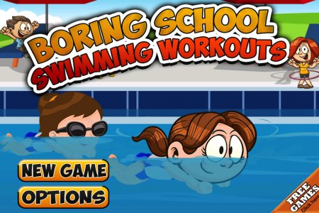 Boring School Swimming Workout