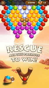 Bubble Shooter Paradise Rescue