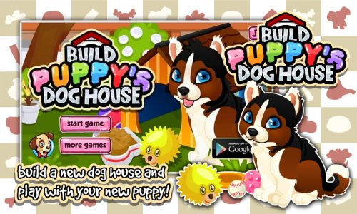 Puppy Pet Care & Dog House