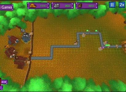 Castle Defense - Creature rush