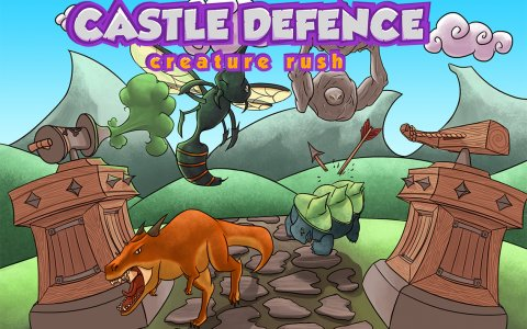 Castle Defense - Creature rush