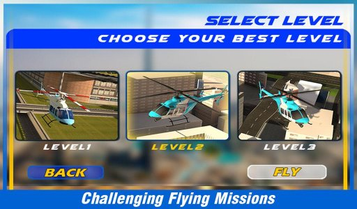 City Helicopter Flight Sim 3D