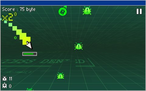 Cursor The Virus Hunter (3D)