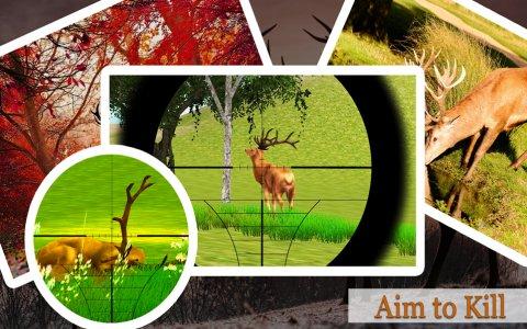 กวางล่าสัตว์ในป่า 2017 - Sniper Deer Hunter