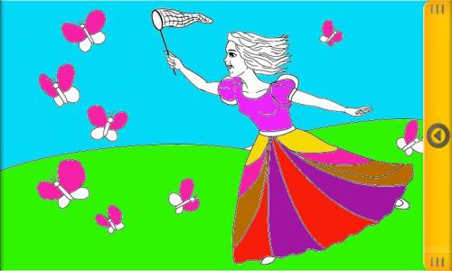 Happy Princess Coloring