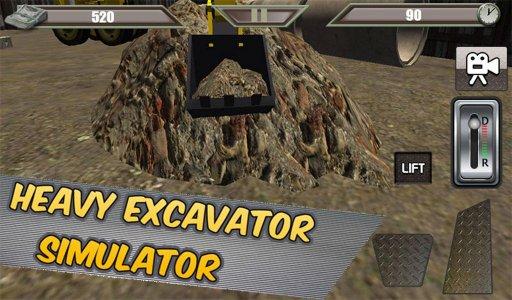 Heavy Excavator Simulator