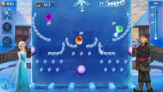 Frozen Free Fall: Icy Shot